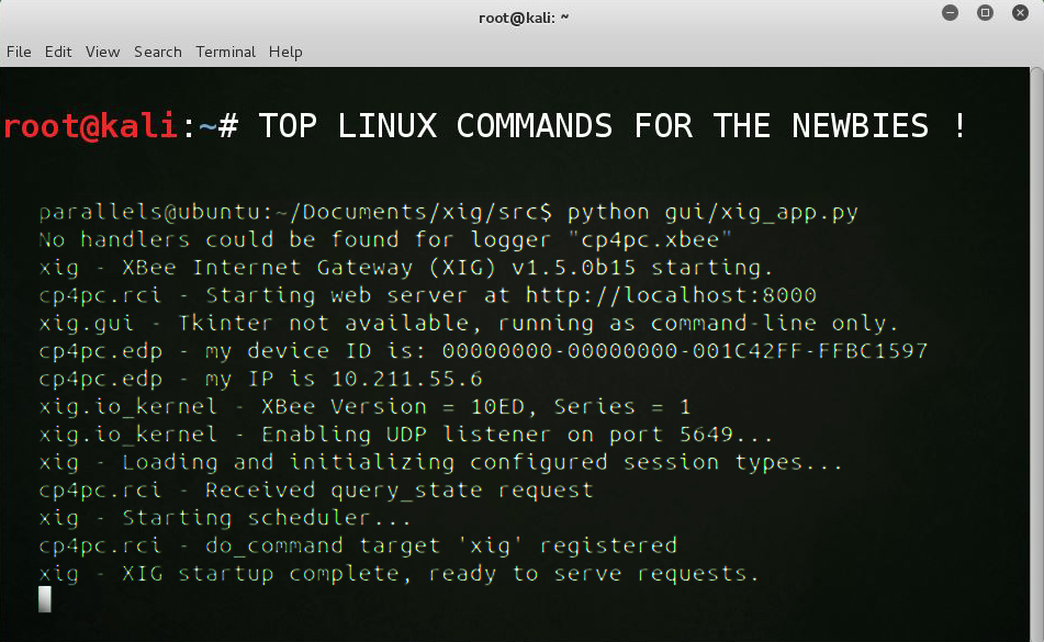 Top Linux Commands