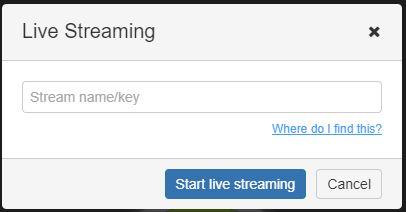 jisti live streaming
